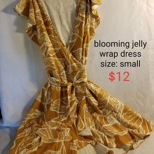 Blooming Jelly Wrap Dress